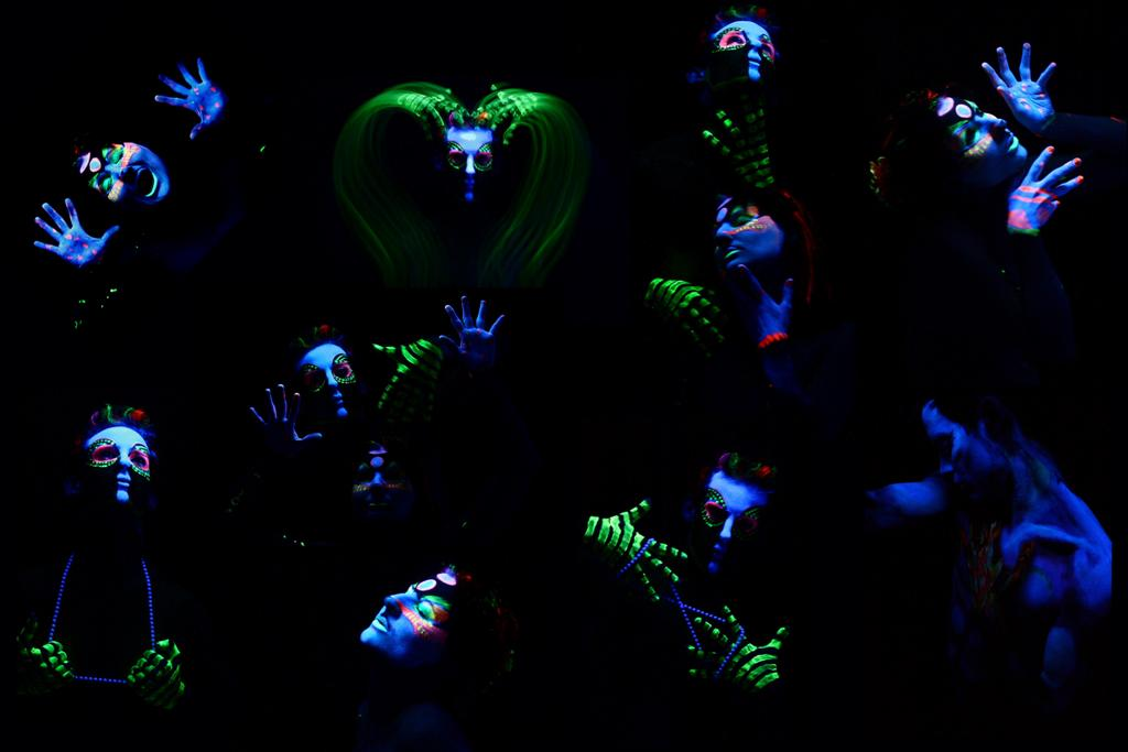 Blog Body Painting Body Painting With Blacklight